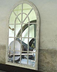 mirrordeco.com — Ramos - Large Arched Window Pane Mirror  H:150cm