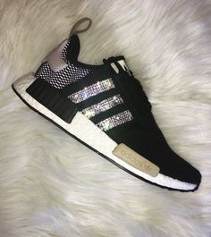 Swarovski Women's Adidas NMD Casual Running Shoes by ExtravaganceShoes on Etsy https://www.etsy.com/listing/511964329/swarovski-womens-adidas-nmd-casual
