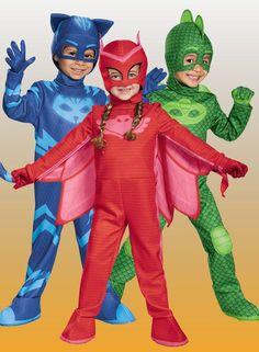PJ Masks Halloween Costumes Dress up your little Gekko, Owlette or Catboy in one of these PJ Masks Costumes. http://www.costumeexpress.com/c/_/N-a/ntt-pj plus masks?REF=SOC-Facebook-Mktg16
