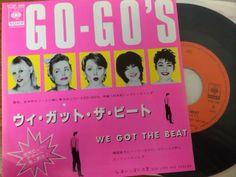 中古レコード店 | スノー・レコードのブログ: 春~桜と増税、ゴーゴーズのピンク色ジャケットのレコード