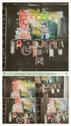 Love this #layout by @Wilna Fitriani! Don't you??! #scrapbooking