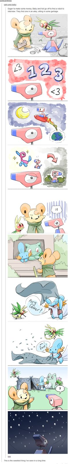 Helping Porygon live its dreams. <3