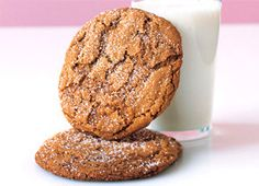"""Super-Sized Ginger Chewies (from """"Big Fat Cookies"""" by Elinor Klivans)"""