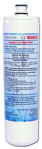 Bosch 640565 Premium Refrigerator Water & Ice Filter, 1-Pack