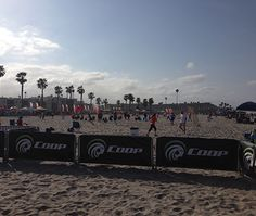 The Coop Sports Sand Soccer event out at Oceanside, CA.