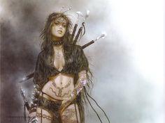 Medusa Gaze - Luis Royo