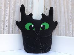 Owl plushie inspired by Toothless