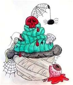 Image Detail for - Zombie Cupcake by ~Katie-92 on deviantART