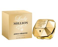 069bde3c8 Lady Million by Paco Rabanne parfum for women. This perfume notes are  Arabian jasmine absolute