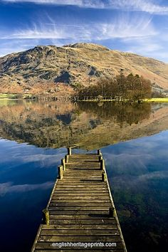 Ullswater, The Lake District, England .... Our honeymoon spot!