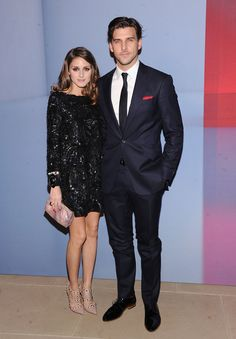 Olivia Palermo & Johannes Huebl..... see... she does know how to accessorize!  He is one handsome mansome!