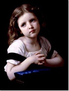 William Bouguereau - The Prayer Painting