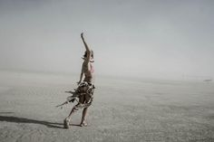 Burning Man Photography by Eric Bouvet