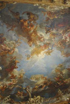 baroque renaissance paintings painting realism versailles