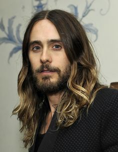 Jared Leto is a 42-year-old man who LOOKS LIKE THIS.