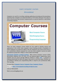 Learn computer courses in ahmedabad