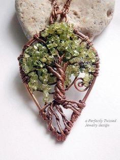 tree of life pendant birthstone - Google Search