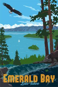 Just Looking Gallery- Steve Thomas Emerald Bay