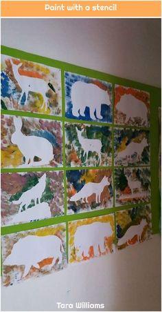 Ideas Animal Art Projects For Kids Preschool Ideas Kindergarten Art, Preschool Crafts, Projects For Kids, Crafts For Kids, Cat Crafts, Unicorn Crafts, July Crafts, Paper Crafts, Animal Art Projects