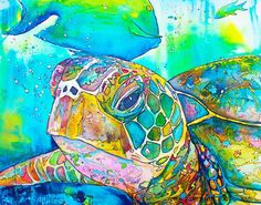 """""""Turtle Face"""" by Jen Callahan"""