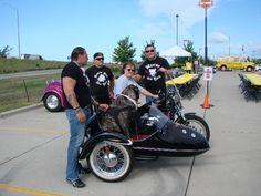 Bev, Bertha with the Rescue Ink Guys from New York !