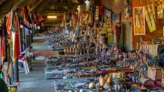 Zulu Arts & Crafts - Zulu Cultural Village adjacent to Zulu Nyala