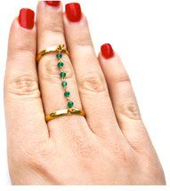 #StyleMint                #ring                     #Green #Onyx #Double #RIng                          Green Onyx Double RIng                              http://www.seapai.com/product.aspx?PID=1753862