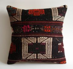 Love this hand woven Turkish Kilim pillow from Sukan. http://www.etsy.com/listing/82258455/sukan-hand-woven-turkish-kilim-pillow#