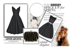 """""""Simpledress#8"""" by dzenana-ikanovic ❤ liked on Polyvore featuring CHI, vintage and simpledress"""