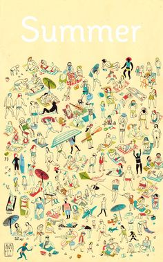 Ana Pez: Verano! #illustration