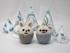 Fuzzy Thoughts: mini pookies ornament pattern