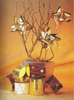 ВЕРТУШКА - Рождественская ЗВЕЗДА из фольги - делаем своими руками