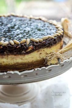 Cheesecake co'bischeri - Burro e Malla Ricotta, Your Recipe, Cheesecakes, Fun Desserts, Sweet Recipes, Tiramisu, Oreo, Cocoa, Caramel