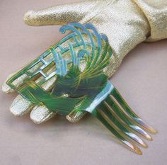 Egyptian Revival Hair Comb