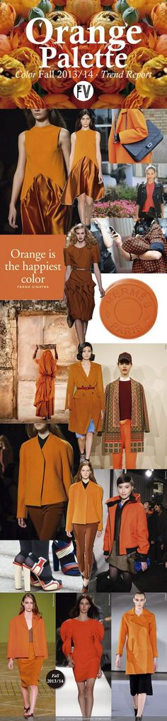 FASHION VIGNETTE: [ TREND REPORT ] ORANGE by Marina Araujo Alvarez