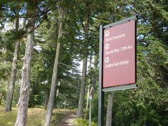 Golden Gate Park, Designer: Kate Keating and Associates Golden Gate Park, Golden Gate Bridge, Wayfinding Signage, Neon Signs, Type, Design