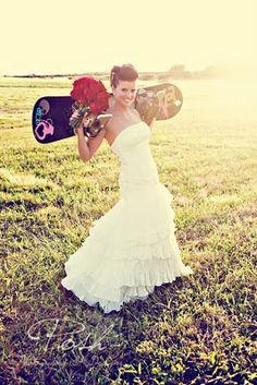 Snowboard Bride