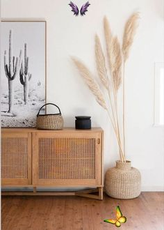 Desert boho interiors -  Love this hallway with its desert boho vibes – all you need is pampas grass and a rattan cupboard - #ApartmentDesign #ApparelDesign #Boho #Desert #GraphicDesign #interiors #LogosDesign<br> Interior Simple, Interior Design Minimalist, Room Interior Design, Interior Stylist, Modern Room Design, Diy Home Interior, Contemporary Home Decor, Dining Room Design, Luxury Interior