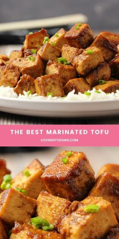 Best Tofu Recipes, Vegan Recipes Easy, Veggie Recipes, Whole Food Recipes, Cooking Recipes, High Protein Vegetarian Recipes, Cooking Tips, Dinner Recipes, Tofu Dishes