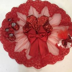 Elanya Jewels by Elanyaj on Etsy Tulle Dress, Pink Dress, Dress Lace, White Pageant Dresses, Baby Dresses, Girls Dresses, Red Christmas Dress, Baptism Dress, Gowns For Girls