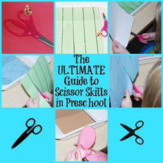 The Ultimate Guide to Scissor Skills in Preschool! | The Preschool Toolbox Blog