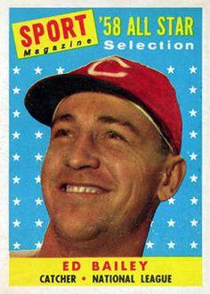 490 - Ed Bailey AS - Cincinnati Reds