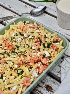 Good Food, Fun Food, Pasta Salad, Food Porn, Food And Drink, Baking, Ethnic Recipes, Food Ideas, Bakken