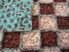 How to make a RAG QUILT....best tutorial that I have seen...will be trying this