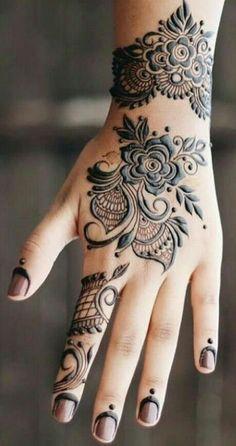 Floral Henna Designs, Full Hand Mehndi Designs, Mehndi Designs Book, Mehndi Design Pictures, Modern Mehndi Designs, New Bridal Mehndi Designs, Mehndi Designs For Fingers, Beautiful Mehndi Design, Latest Mehndi Designs