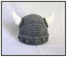 Baby Viking Hat Crochet Pattern Free