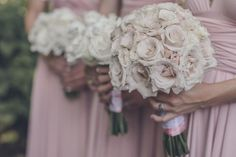 Nashville Garden Wedding Bridesmaids Bouquets | Vintage Garden Wedding | Perch Photography #cjsoffthesquare