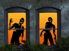 Halloween Ghoulies Window Clings