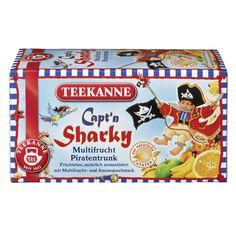 Piratentrunk! TEEKANNE Früchtetee von Capt'n Sharky