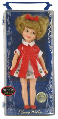 Penny Brite Doll from the early 60s.... I had one of these,  I loved this doll!